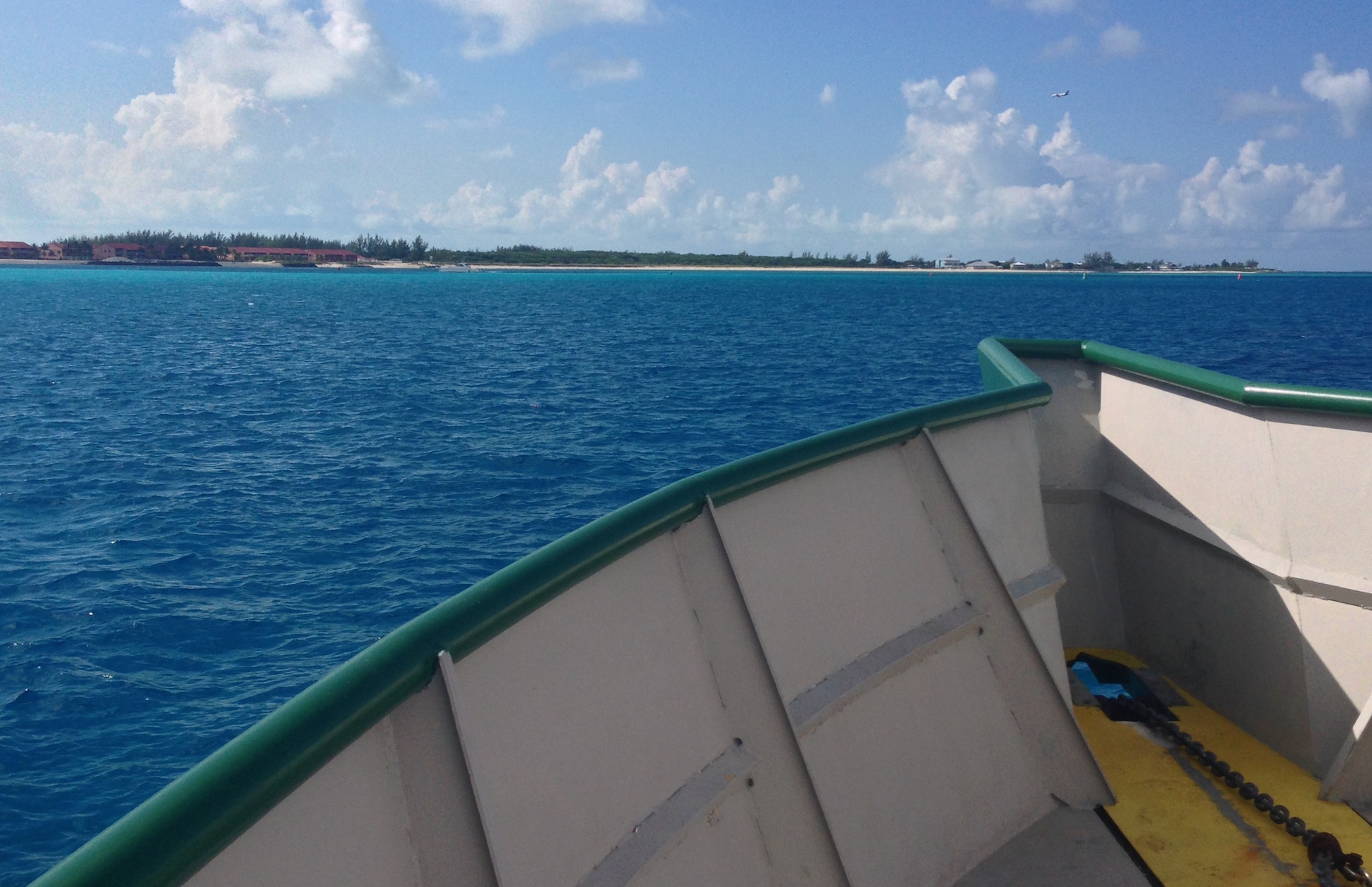 Clearning customs in Bimini, Bahamas
