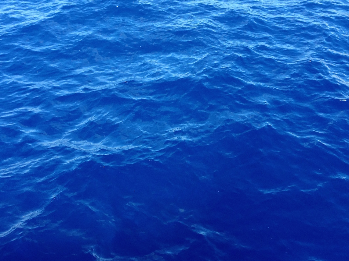Sapphire Blue Water