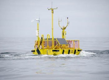 wave energy test berth