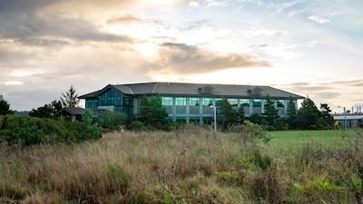 NOAA building in Newport