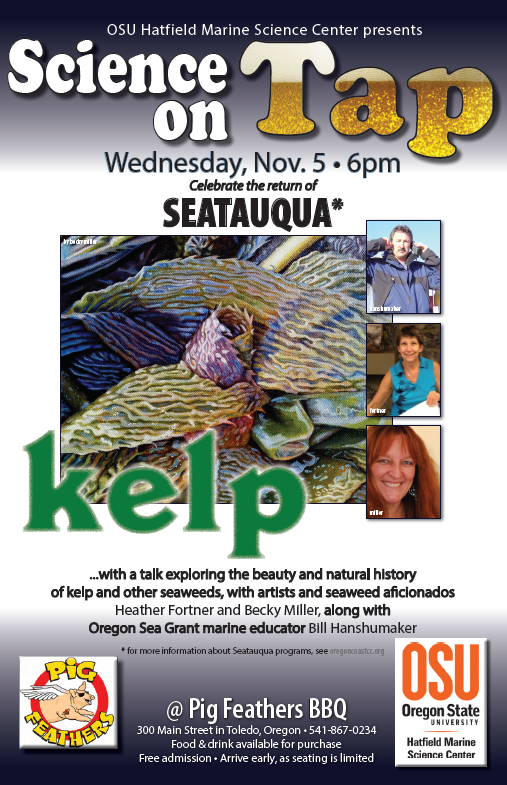 Science On Tap poster - Kelp