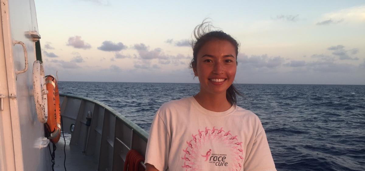 Cammie Ogden-Fung (Bowdoin, REU Student)