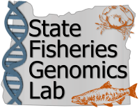 State Fisheries Genomic Lab logo