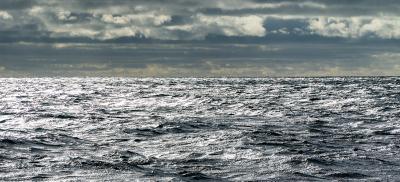 dark ocean water