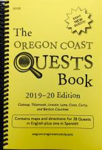 Oregon Coast Quests Book, 2019-20 Ed cover