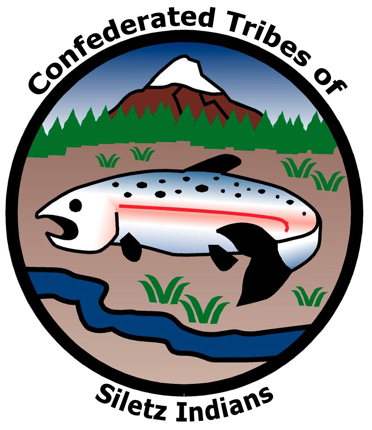 Confederated Tribe of the Siletz Indians Logo