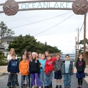 Students who made the Oceanlake Quest