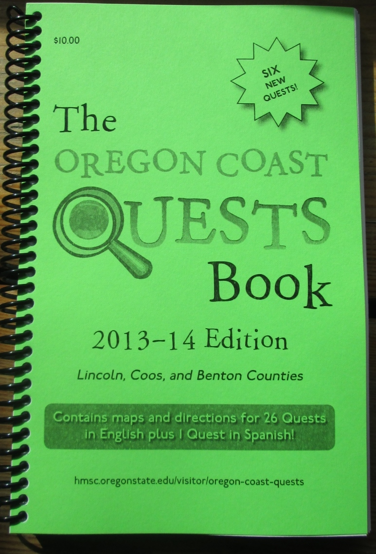 Oregon Coast Quests Book, 2013-14 Ed