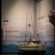 Model of fishing boat